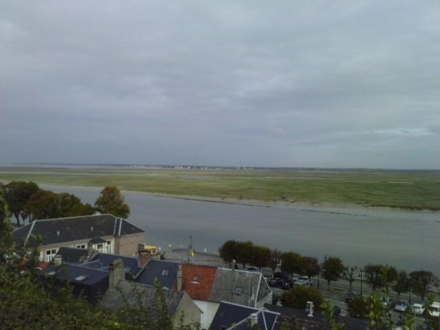 Vue de la Baie de Somme depuis le quartier du courtgain