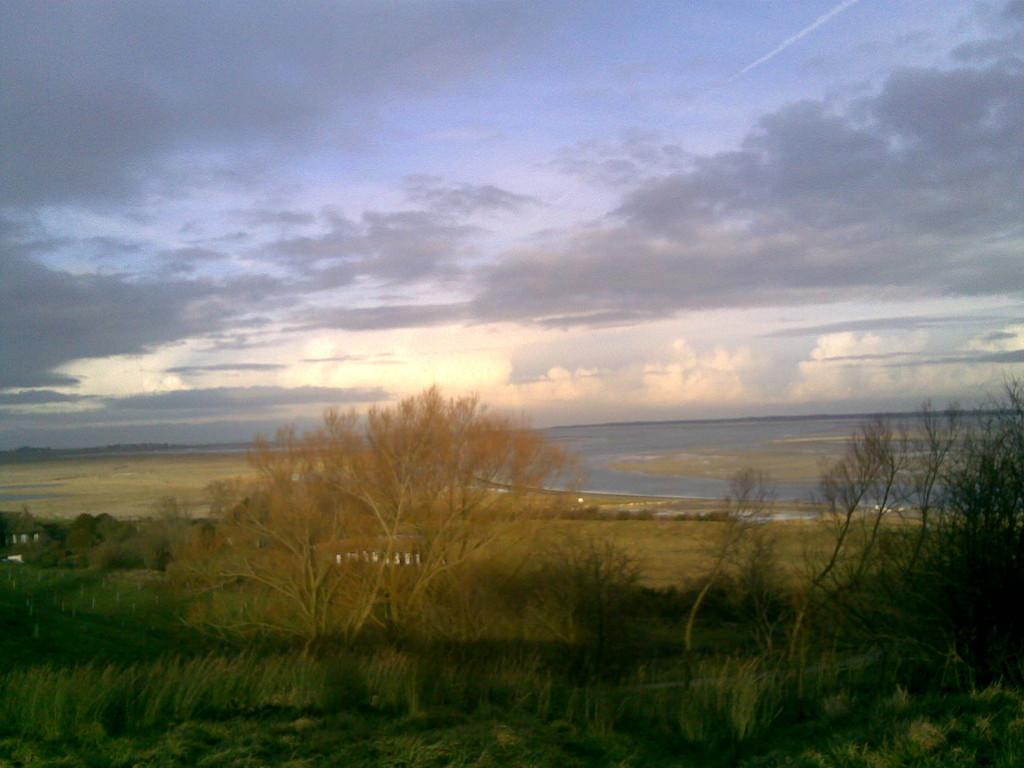 Vue de la Baie de Somme à la Chapelle des marins
