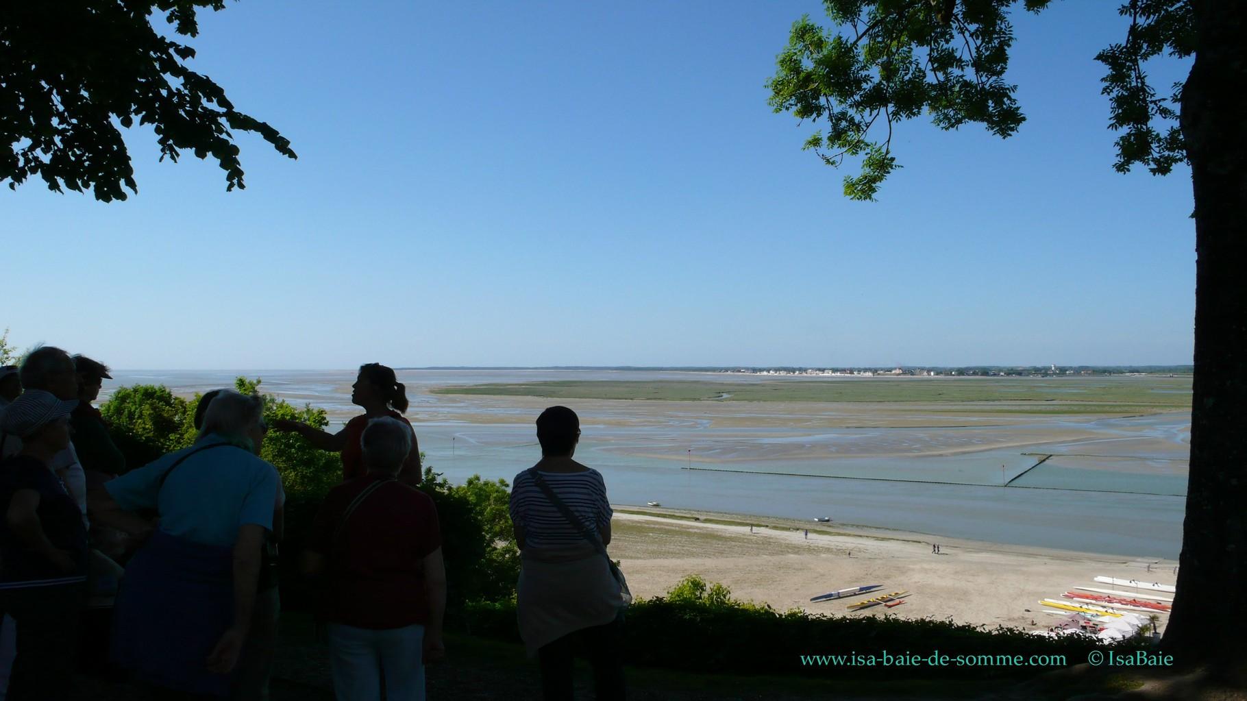 Vue panoramique de la Baie de Somme