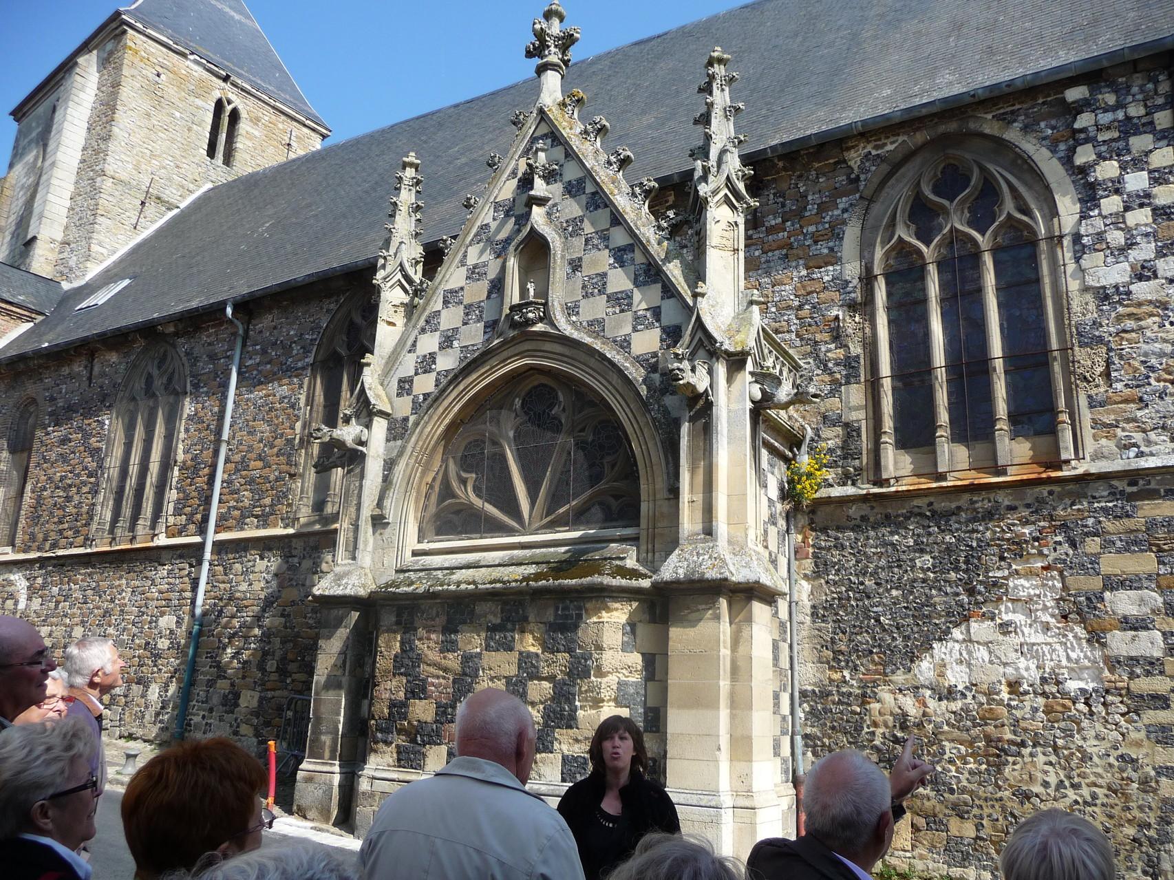 Vieille ville de Saint Valery sur Somme