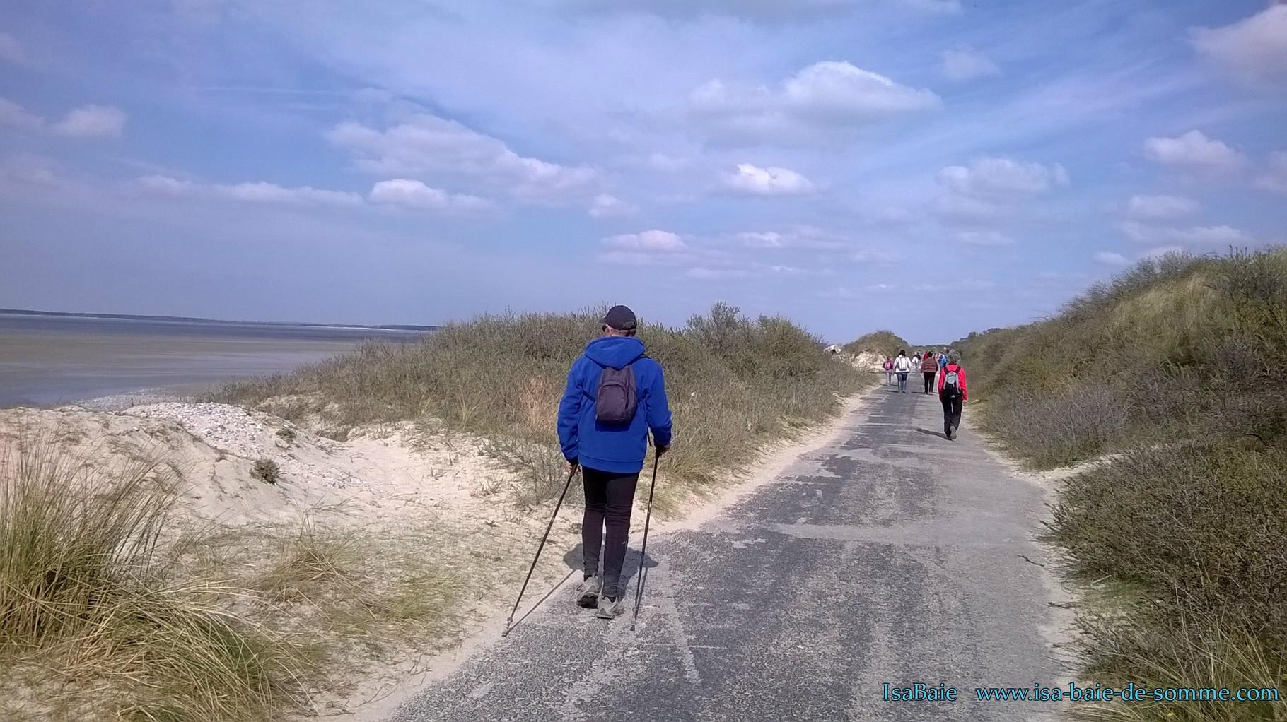 Randonnées Baie de Somme : les dunes