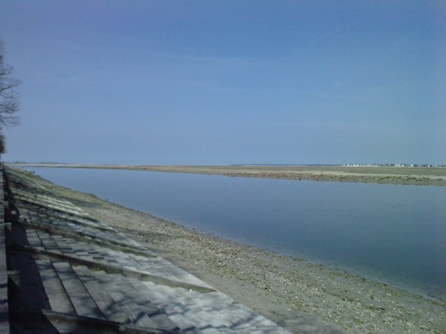 Baie de somme vue du Quai de Saint Valery