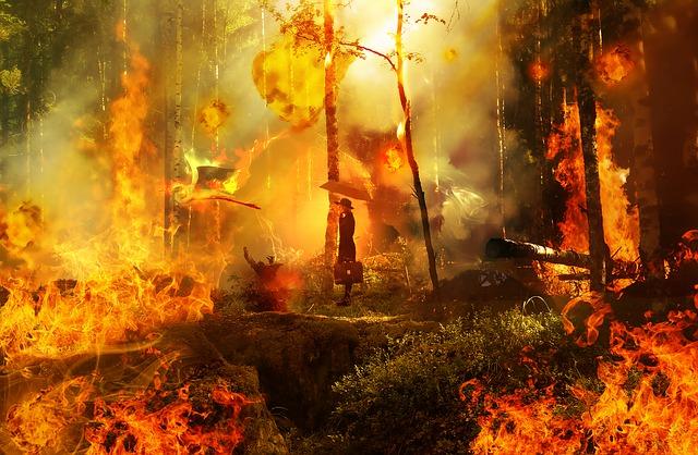 Es war (ist) einmal (jetzt) ein Flächenbrand