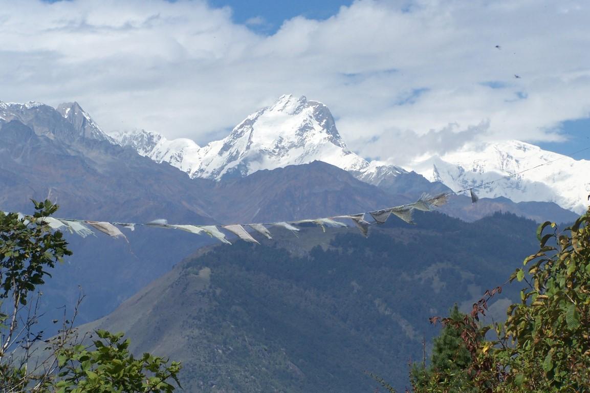 Langtang Himalaya range