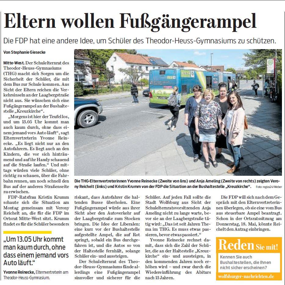 Wolfsburger Nachrichten, 16.05.17
