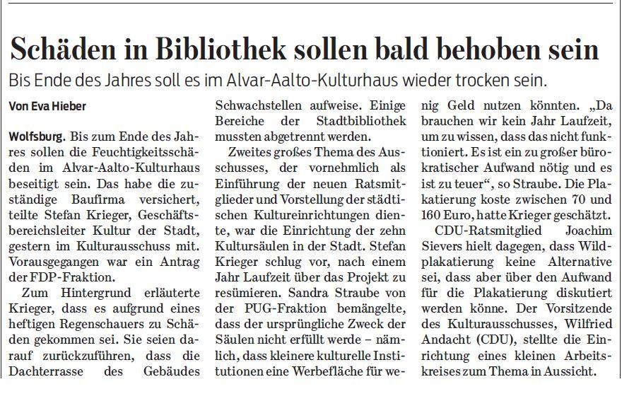Wolfsburger Nachrichten, 24.11.2016