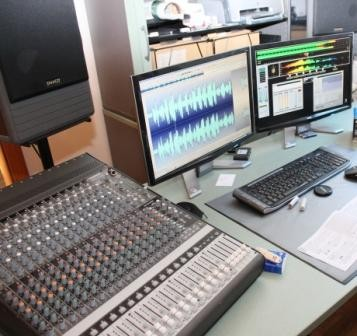 KTU - Teilansicht des Tonstudios
