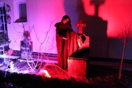Halloween 2012 - Special Effects mit Lichttechnik von KTU