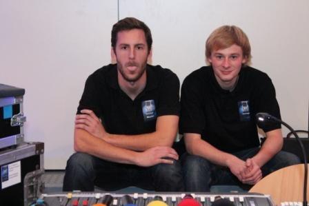 ...benehmen sich wie Max&Moritz :-)