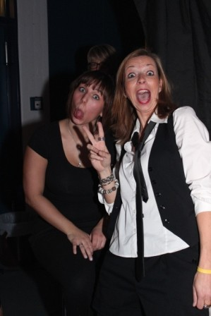 Dozentinnen von Powerstage - Ein bisschen Spaß muss sein...