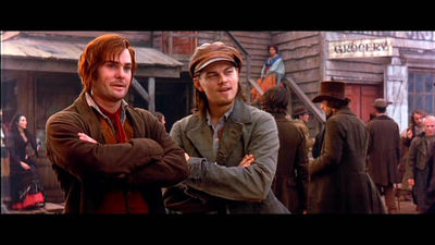 Starring Leonardo DiCaprio / Gangs of New York