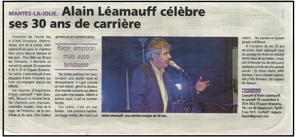 A. Léamauff célèbre ses 30 ans de carrière