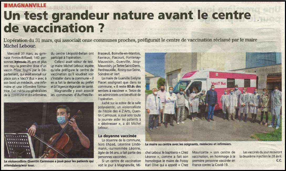 Le Courrier 07/04/21