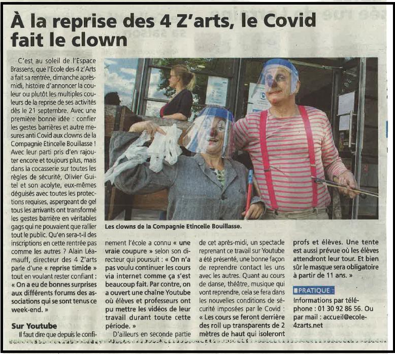 Le Courrier 09/09/20