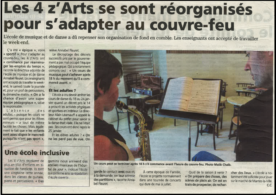 Le Courrier 03/02/21