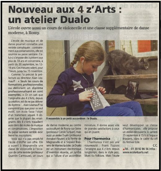 Le Courrier 15/09/21