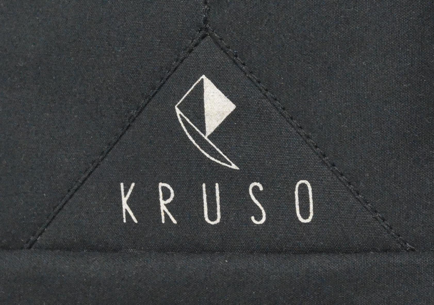 von Hand gedrucktes Label