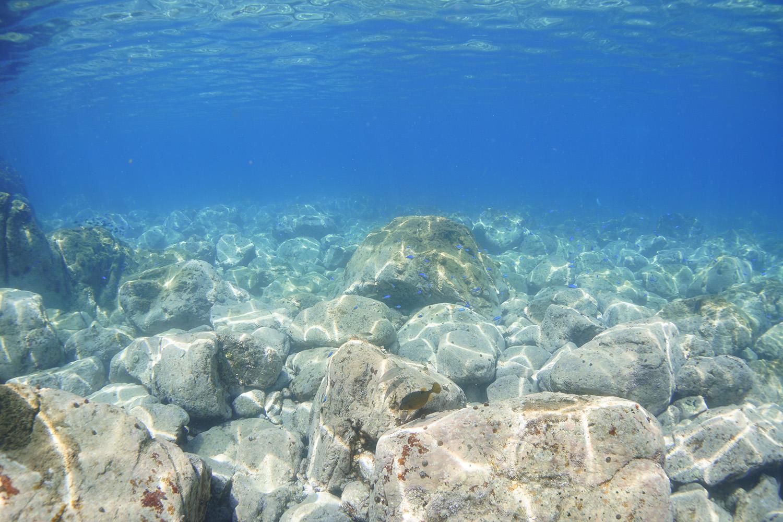 天草ブルーのきれいな海