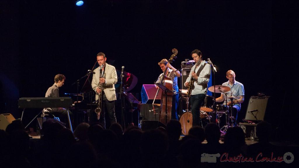 Thomas Savy Quintet. Festival JAZZ360 2015, Cénac