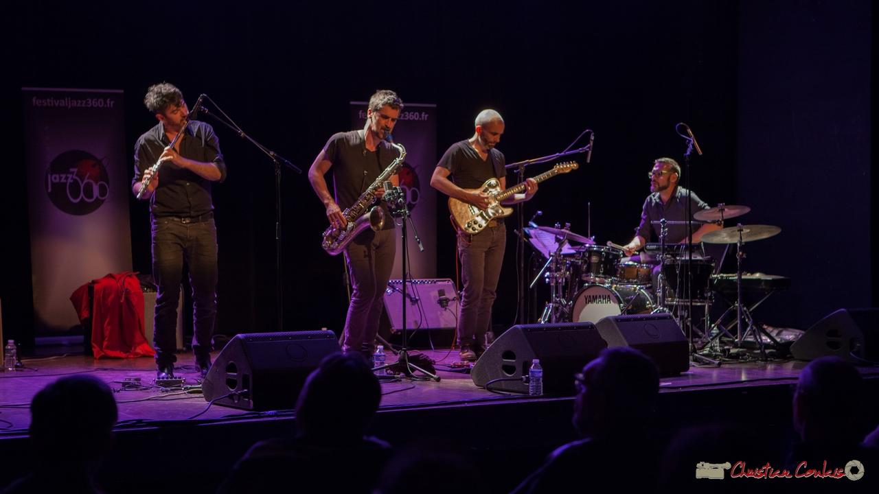 10/06/2016. Sylvain Rifflet Quartet, Cénac. Festival JAZZ360
