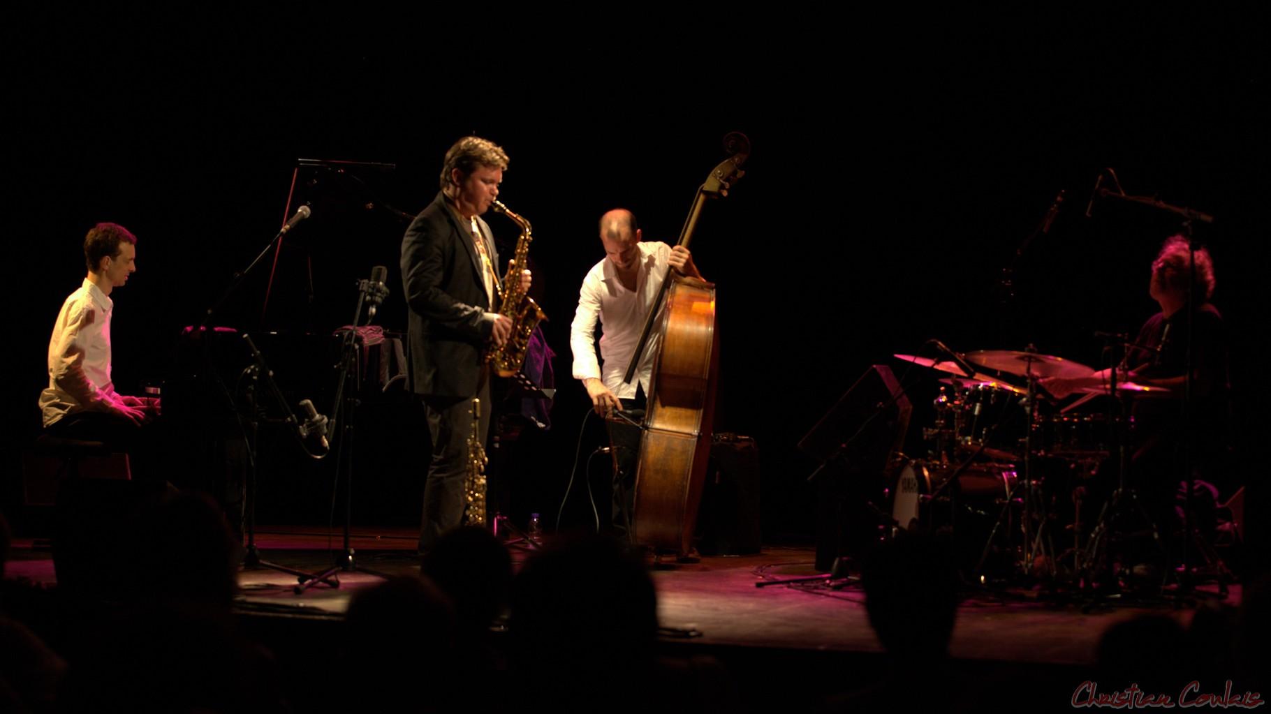 Festival JAZZ360 2014, Baptiste Herbin Quartet feat André Ceccarelli, Cénac