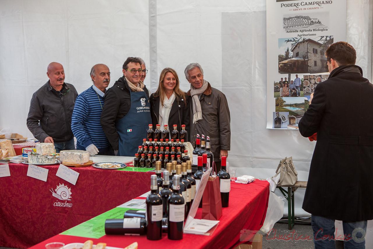 Saveurs d'ici et d'ailleurs, les producteurs italiens mis à l'honneur, Créon