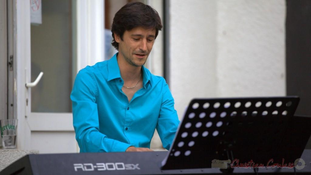 Festival JAZZ360 2015, Phil Gueguen. Cénac, 12 juin 2015
