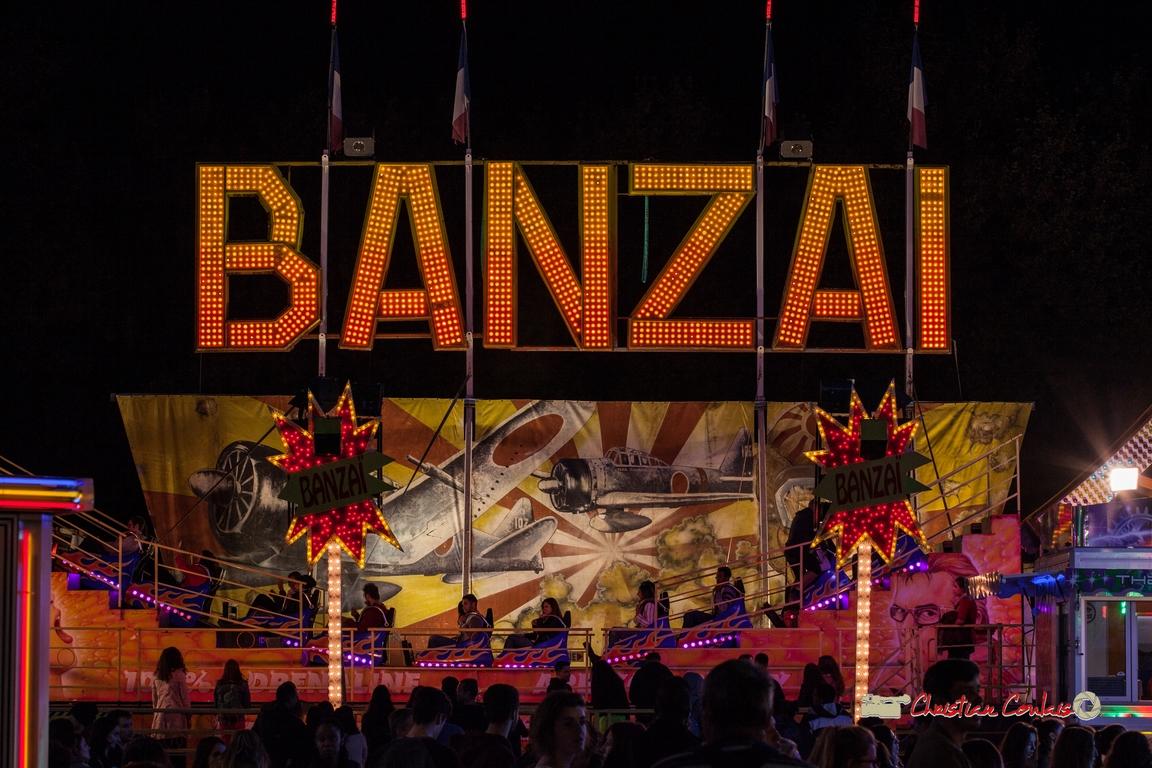 """""""Banzaï I !"""" Au fil des allées de la Foire aux plaisirs. Bordeaux, mercredi 17 octobre 2018"""