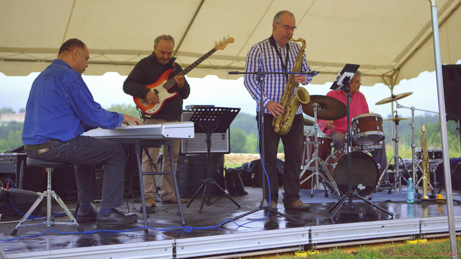 Festival JAZZ360 2012, Affinity Quartet, Quinsac
