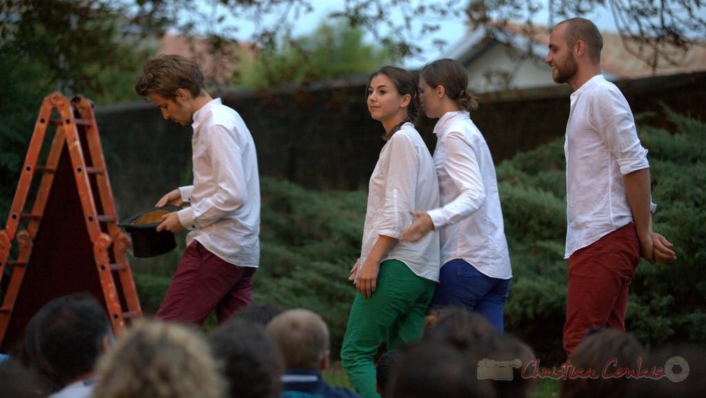 Sophie Anselme, Fanny Imbert, Clément Bayart, Maxime Coudour
