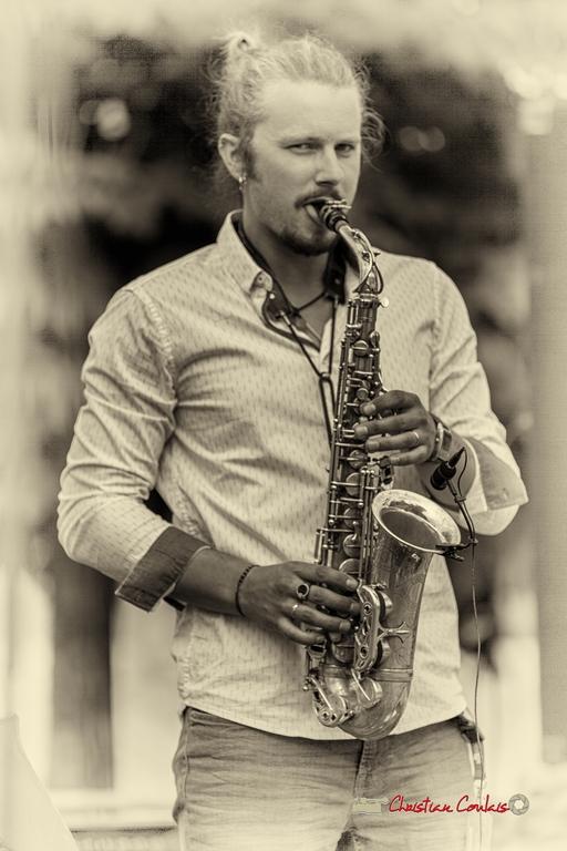 Valentin Foulon-Balsamo, Docteur Nietzsche Quartet. Festival JAZZ360 2018, Cénac. 08/06/2018