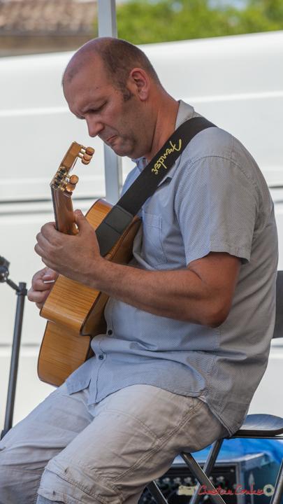 Cyril Salvagnac, Mystèretrio Quartet, Festival JAZZ360, Latresne. 11/06/2017
