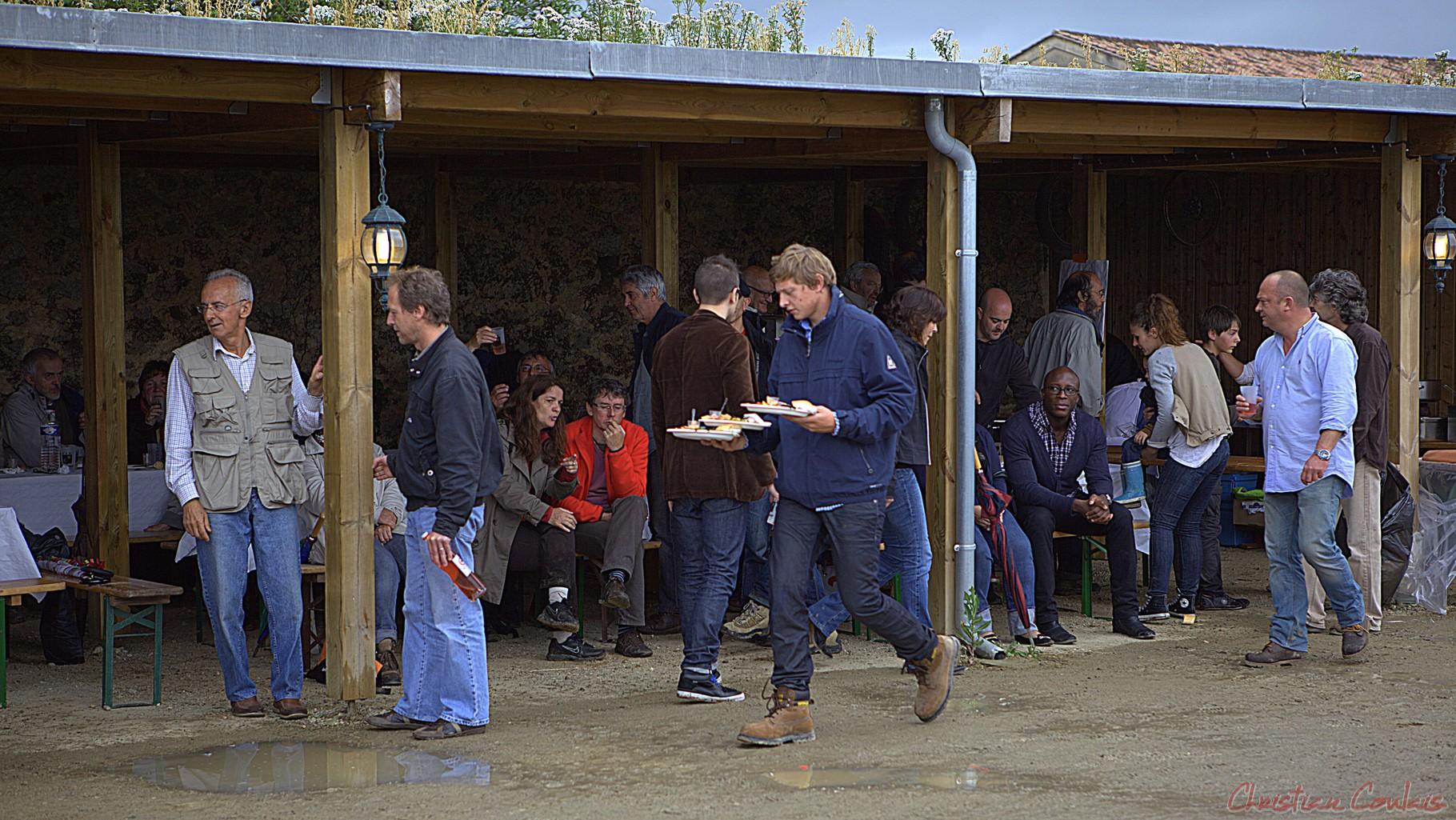 Festival JAZZ360 2012, on s'y restaure au Château Lestange à Quinsac