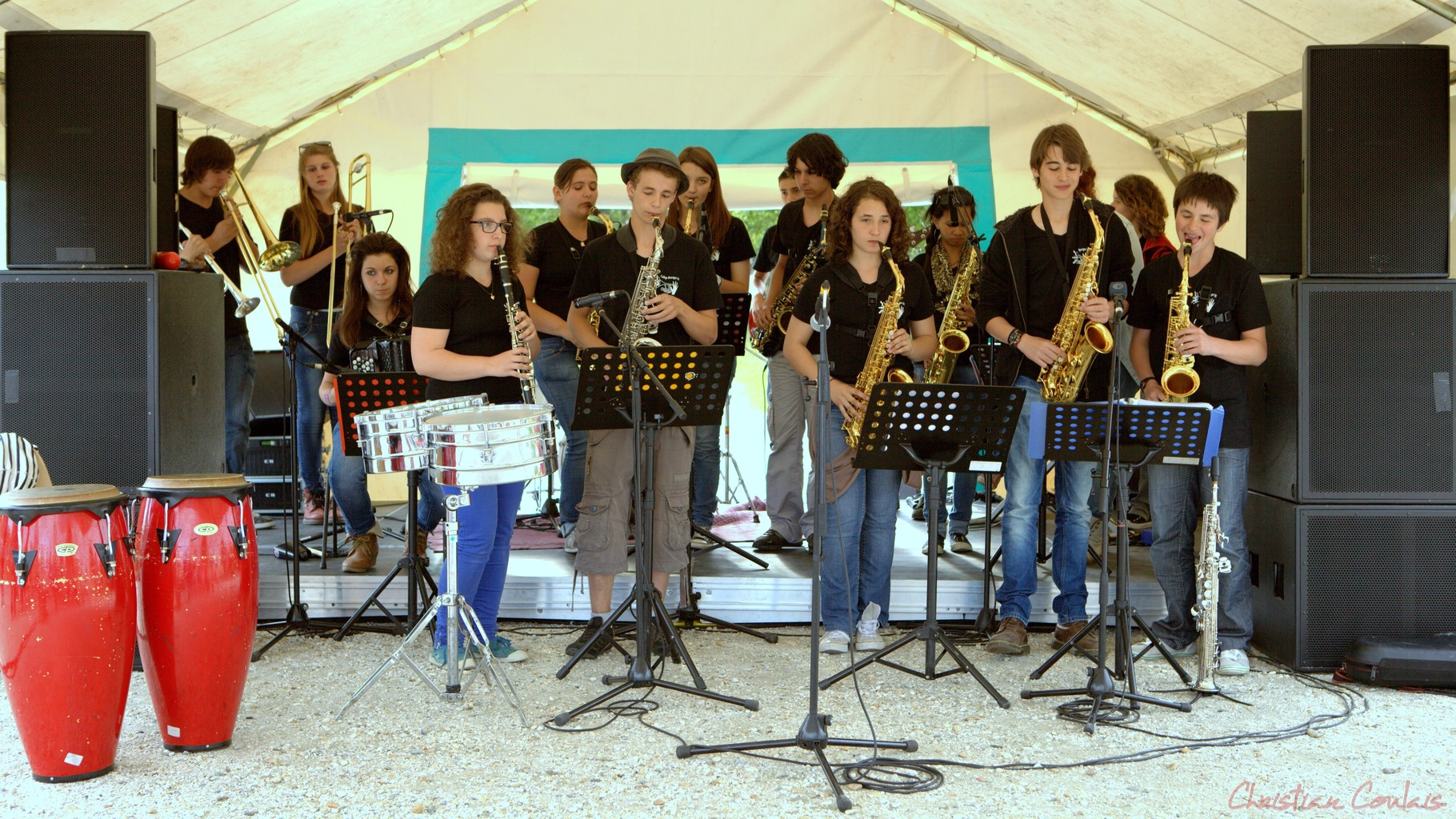 Festival JAZZ360 2012, Big band Jazz du Collège de Monségur, Cénac