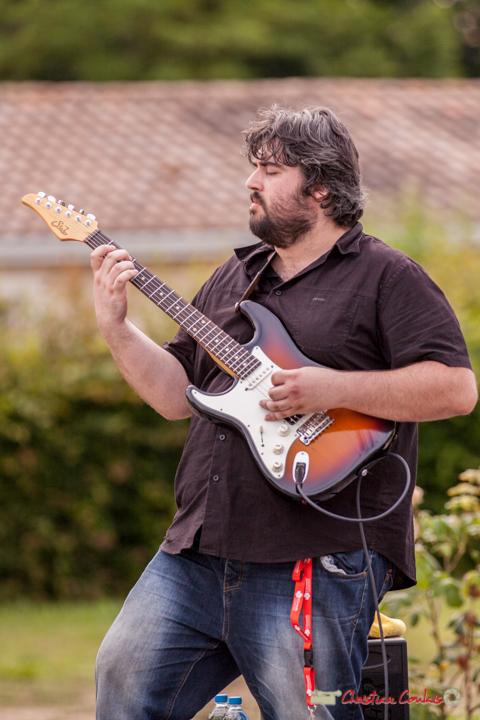 Jean-François Valade; Docteur Nietzsche Quartet. Festival JAZZ360 2018, Cénac. 08/06/2018