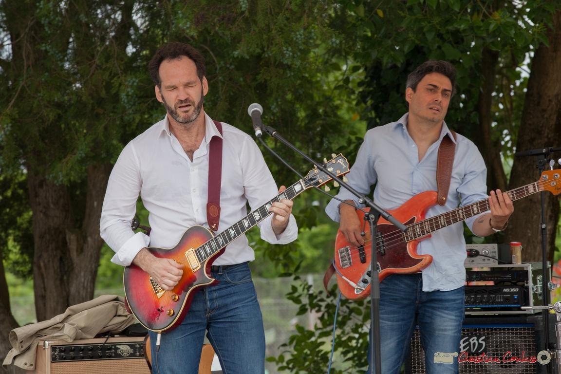 12/06/2016. Jean Lassallette, guitare / Nicolas Mirande, basse, Taldea Group. Festival JAZZ360