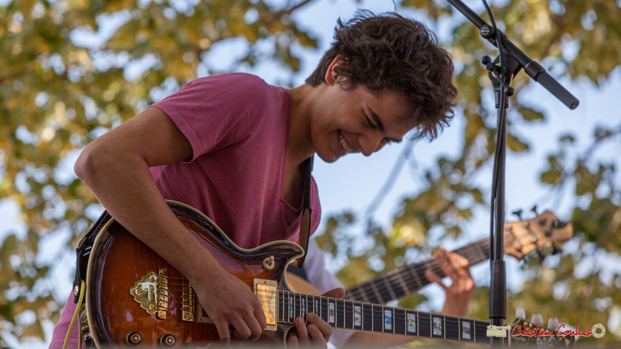 Tom Ibarra; Tom Ibarra Group. Festival JAZZ360, Camblanes-et-Meynac, 10 juin 2017