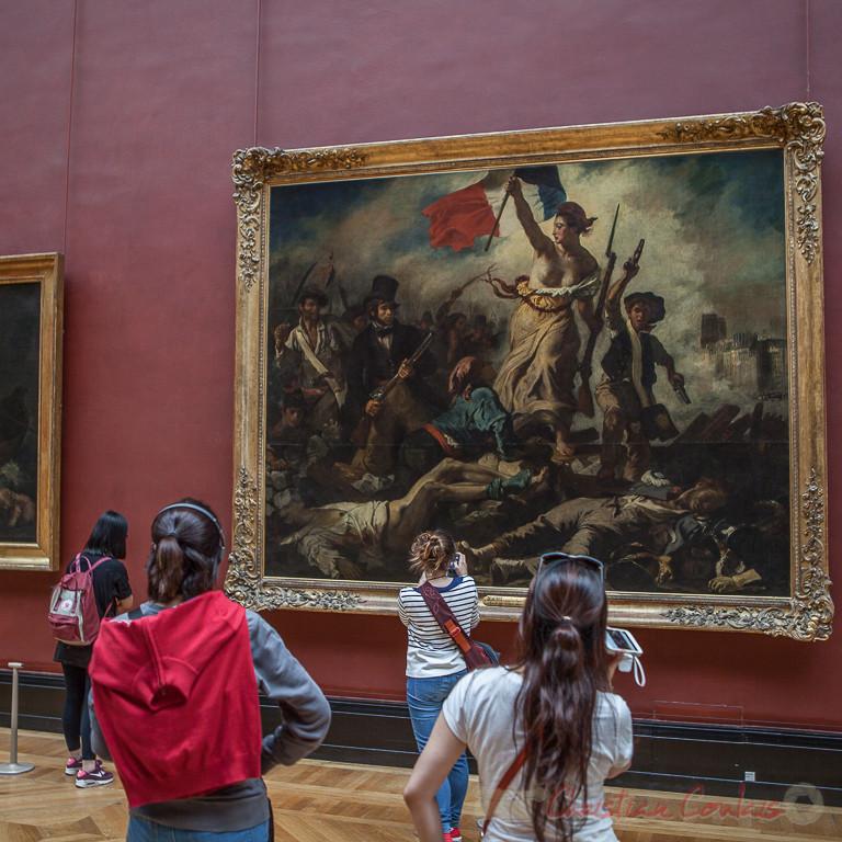La Liberté guidant le peuple, Eugène Delacroix, Musée du Louvre
