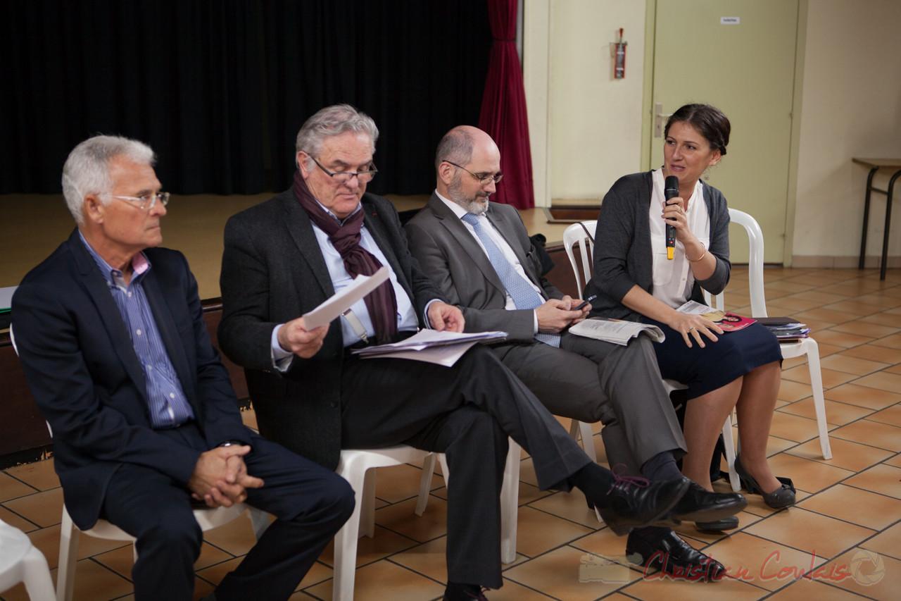 Gérard Poisbealud, Jean-Marie Darmian, Chrisian Soubie, Anne-Laure Fabre-Nadler, à Tresses