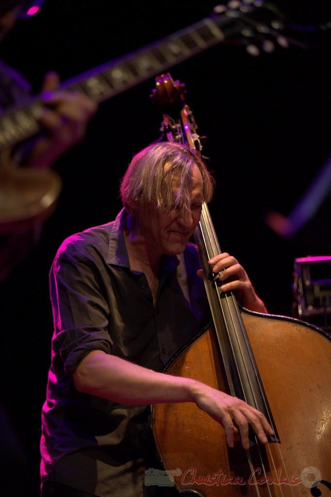 Festival JAZZ360 2015, Jean-Claude Oleksiak; Jean-Claude Oleksiak Quartet, Cénac. 13/06/2015
