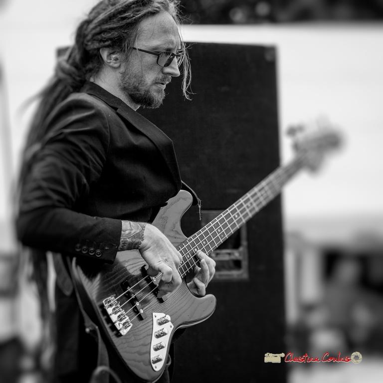 Geoffrey Shob Neau; Shob & Friends. Festival JAZZ360 2018, Quinsac. 10/06/2018