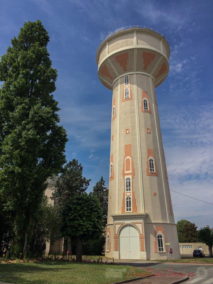 Le Château d'eau de Neuville-de-Poitou, Vienne, Nouvelle-Aquitaine