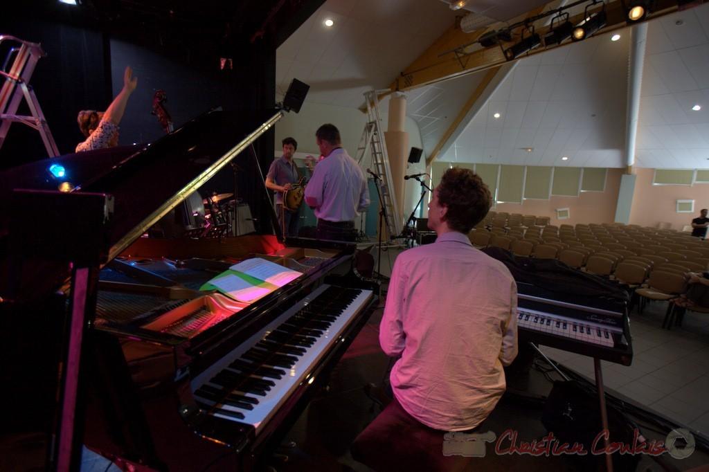 Festival JAZZ360 2015, balances de Thomas Savy Quintet. Cénac, 13/06/2015