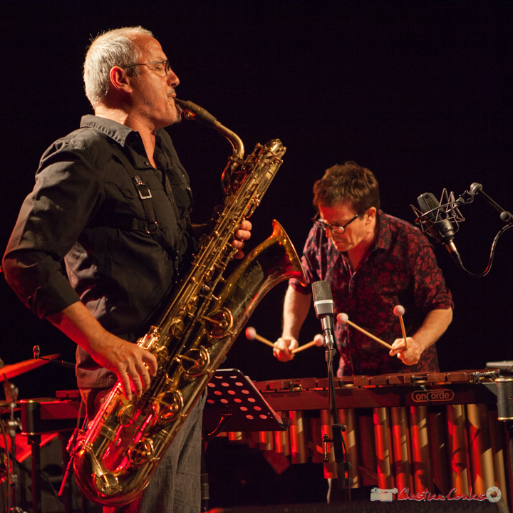 François Corneloup, Franc Tortiller Duo. Festival JAZZ360, 10 juin 2017