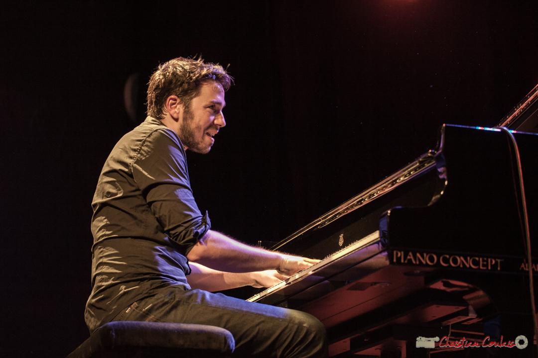 """Etude de mouvements 4"". Rémi Panossian, Rémi Panossian RP3 Trio, Festival JAZZ360, Cénac, 9 juin 2017"