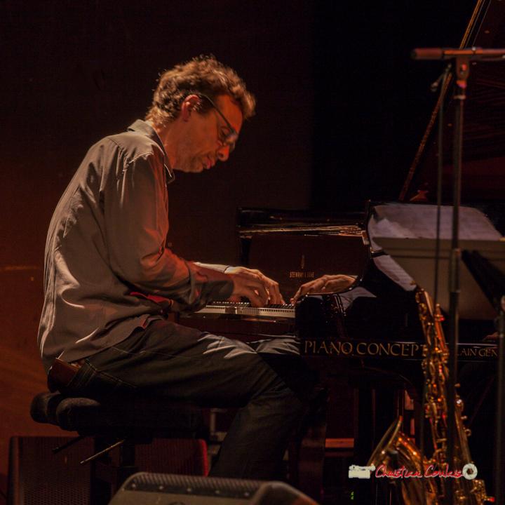9 Pierre de Bethmann, pianiste & compositeur. Festival JAZZ360 2019, Cénac. 07/06/2019