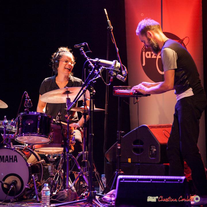 Anne Paceo, Christophe Panzani; Anne Paceo Circles. Festival JAZZ360, Cénac, 10 juin 2017