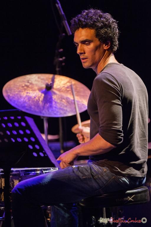 10/06/2016. Gaétan Diaz, batterie, le JarDin Quartet. Festival JAZZ360