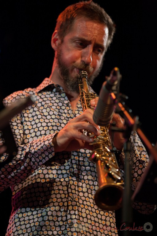 Christophe Panzani, Jean-Claude Oleksiak Quartet. Festival JAZZ360 2015, Cénac