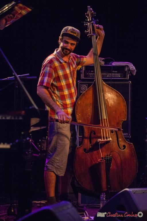 11/06/2016. Philippe Leduc, contrebasse, Misc. Festival JAZZ360